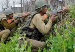 guerrilla hideout busted in doda army