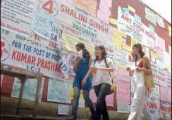 dusu polls student leaders unhappy with lyngdoh panel curbs