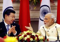 disputed map not signed by narendra modi during xi visit