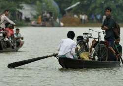 flood situation in assam grim over 2 lakh people affected