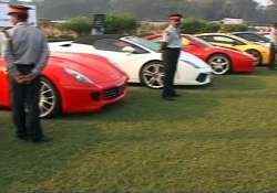 nearly 100 world class cars take part in parx super car