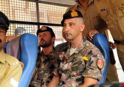 remand of italian marines extended