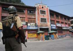 strike disrupts normal life in kashmir valley