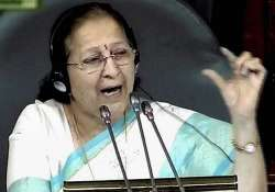 aghast sumitra mahajan says frequent disruptions damaging
