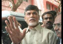will not go to hyderabad sans visiting babhli site naidu