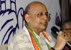 congress blames corruption charges against ncp for poor