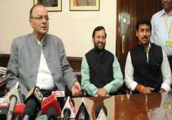 arun jaitley defends cabinet expansion slams congress claims