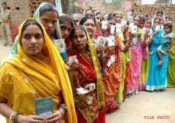 ls polls 2014 voting for 121 seats today jaswant shinde