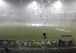 champions league sunrisers out after washout
