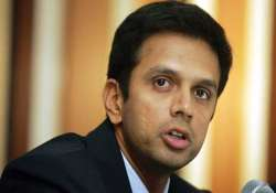 dravid to mentor india s potential olympians