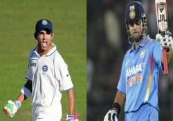 gautam gambhir makes a come back raina to lead india on