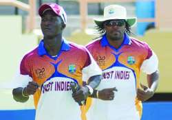 windies skipper sammy expects support from gayle
