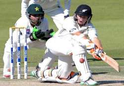 pakistan vs new zealand scoreboard at stumps day 4 1st test
