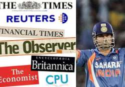british media praise mighty tendulkar