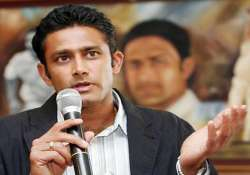 kumble suggests more practice games for tour of australia