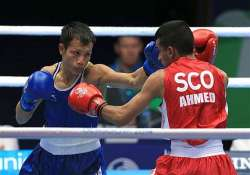 cwg 2014 devendro enters final of lightfly weight category