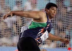 gowda finishes 7th in discus throw in world athletics