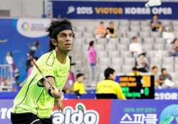 ajay jayaram s dream run ends in disappointment at korea