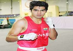 vijender dropped from cyprus cuba boxing events