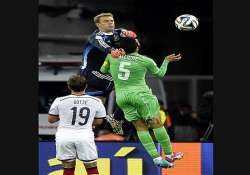 fifa world cup manuel neuer s heroics save germany s world
