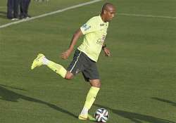 fifa world cup maicon to start for brazil against colombia