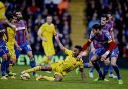 epl liverpool s woes continue with 3 1 loss at palace