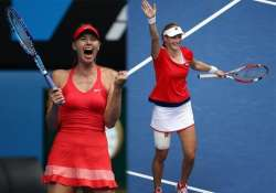 australian open 2015 sharapova to play makarova in