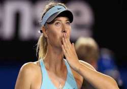sochi is over tennis queen maria sharapova is back on