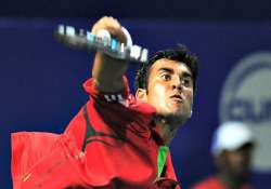 yuki gives india 1 0 lead vishnu leading in incomplete match