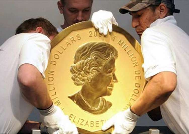 world s biggest gold coin auctioned for 2.68m- India Tv