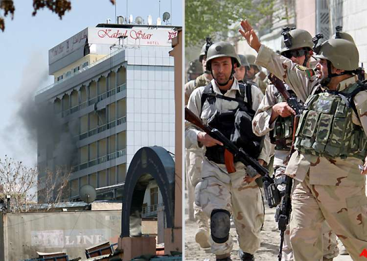 taliban attack embassies parliament in kabul 3 other cities 16 killed- India Tv