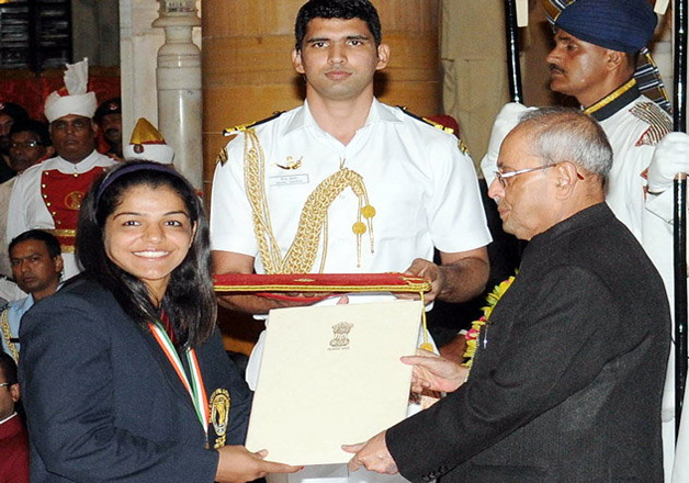 Wrestler Sakshi Malik was the first to score a medal at the Rio Olympics and opened India's medals tally after a poor run of over a week.
