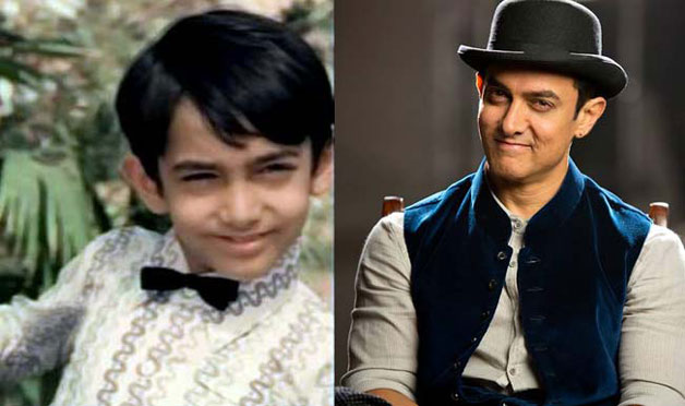 Aamir Khan – The superstar won millions of hearts with his endearing smile in the cult classic movie 'Yaadon Ki Baaraat', in which Aamir played the role of a young Tariq Khan. All thanks to his father Nassir Hussain that we got this cute glimpse of 'Mr. Perfectionist' who is now one of the leading actors in the industry.