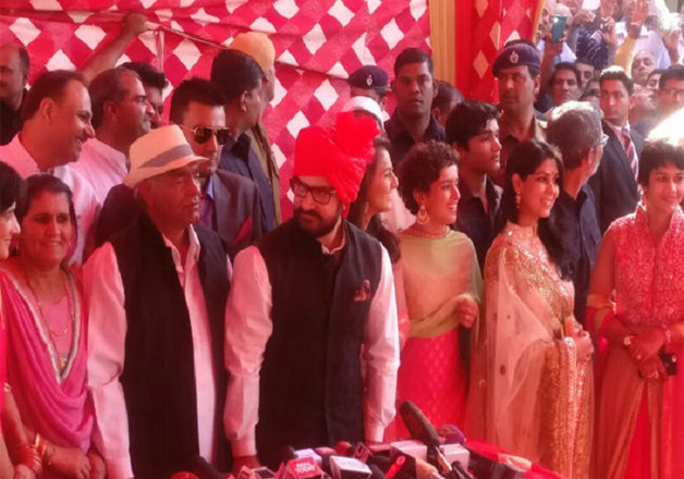 Geeta was extremely happy and said that Aamir's presence on her wedding was her biggest gift.