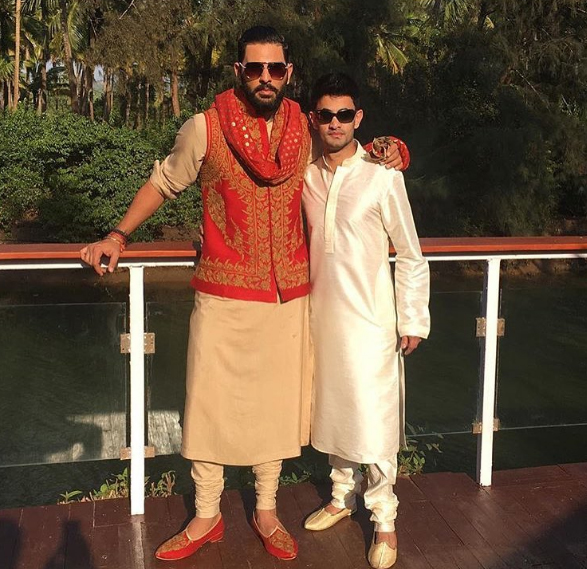Yuvraj Singh is all geared up for his Goa wedding.