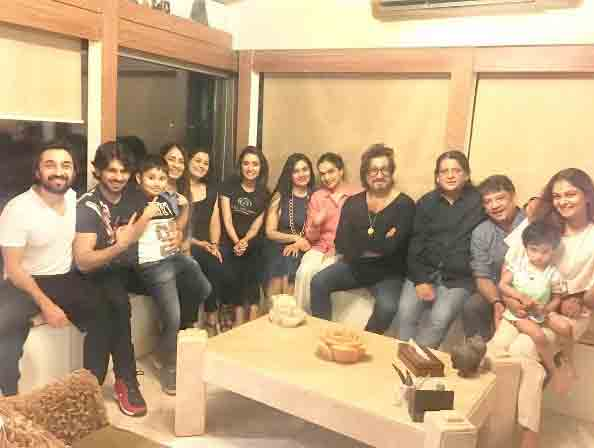 Shraddha Kapoor's brother Siddhant Kapoor, aunt Padmini and Tejaswini Kolhapure also graced the pre-birthday party and blessed the actress for her bright and successful future.