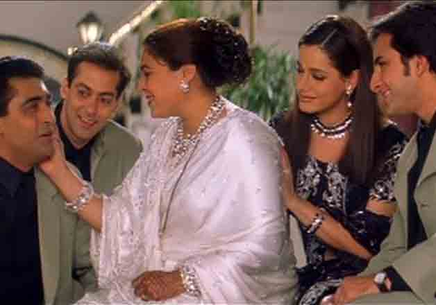 Reema played Salman Khan's mother in Maine Pyar Kiya and Hum Saath Saath Hai. She beautifully portrayed mother's role in many Rajshree movies.