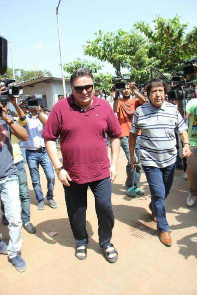 Rishi Kapoor was among one of the first to pay respect to Reema Lagoo.