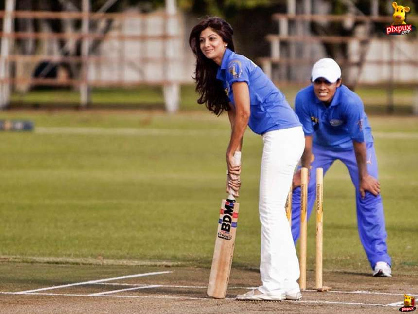 The co-owner of the IPL team Rajasthan Royals was the captain of the volleyball team of her school. You'll be amazed to know that the lady who is so glamorous on screen, is also black belt in Karate.