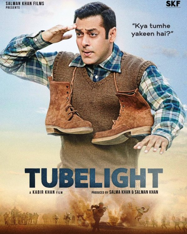 Tubelight is Salman's next outing after Bajrangi Bhaijaan, which received much applaud by audiences. Tubelight is slated to release on June 23, 2017.