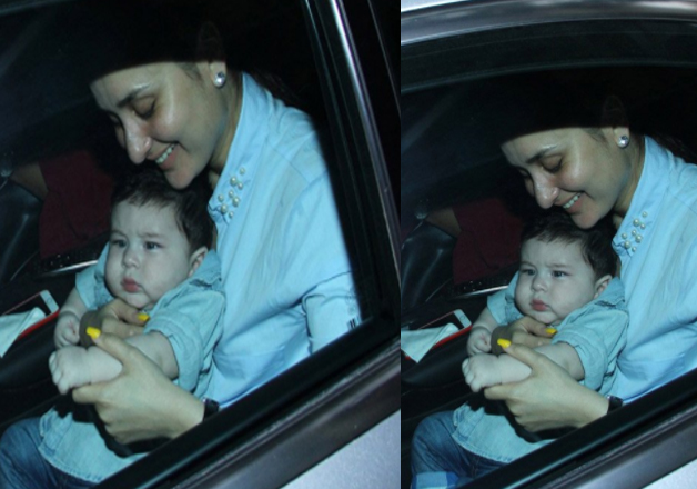 In the pictures little nawab, Taimur is looking too cute and the he is considered as one of cutest star kids of Bollywood.