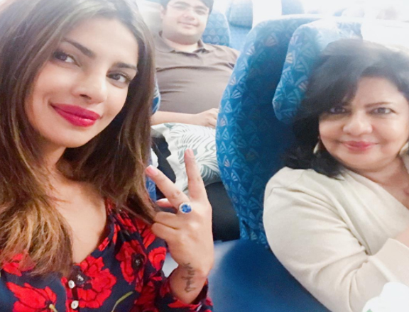 Priyanka, who after the release of Baywatch, soon got involved in her third Hollywood project, deserves a break. And the actress planned for a family trip a day ahead of her birthday along with her mother and brother. Sharing a picture with her mother, Priyanka wrote, '' Happy family vacaaaaayyyyy.. #Chopra'sOut @siddharthchopra89 @madhuchopra.''