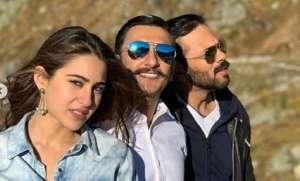 After soaking in the Swiss sun, Simmba stars Sara Ali Khan