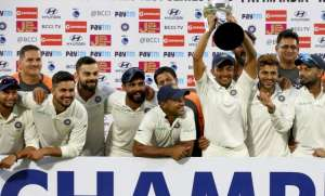 A clinical India completed one of the most ruthless clean