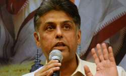 File pic - Manish Tewari