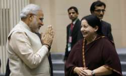 File photo of PM Narendra Modi and former Tamil Nadu chief