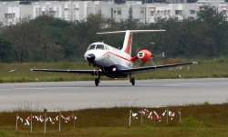 Indigenous aircraft Saras successfully completes second