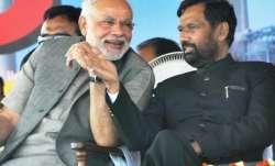 File pic - Ram Vilas Paswan says 'leaving NDA unthinkable,