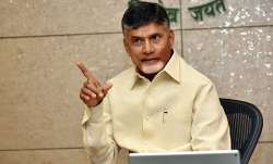 Chandrababu Naidu begins 12-hour hunger strike demanding