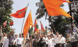 Ally turned rival shiv-sena striked bjp by considering it